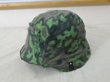 Original fabric Eichenlaub Helmbezug Tarnbezug Stahlhelm / helmet cover oak leaf