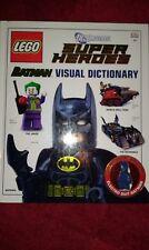 """Lego Books DC Universe """"Super Heroes"""" BATMAN Visual Dictionary (No Minifigure)"""
