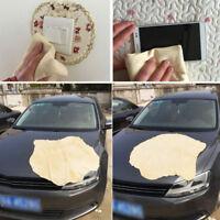 Auto Car Natural Drying Chamois Sheepskin Deerskin Towel Cleaning Washer