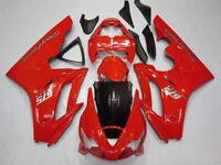 Red Bodywork Fairing Panel Kit for Triumph Daytona 675 2006 - 2008 ABS Injection
