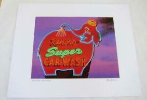 Rancho Super Vintage Neon Sign - 11x14 Photograph signed Brian Blackwelder - #60