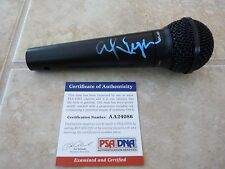 Alice Cooper Nightmare Signed Autographed Microphone PSA Certified #2