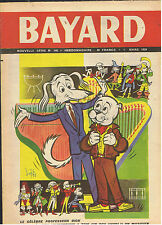 JOURNAL BAYARD LOT 25 NUMEROS  ANNEE 1959