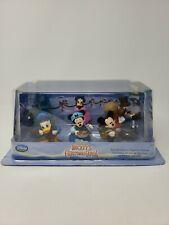 Disney Store Mickey's Christmas Carol Figure Set Playset Minnie Mouse Scrooge