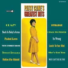 Patsy Cline GREATEST HITS Best Of 12 Essential Songs STEREO New Sealed Vinyl LP