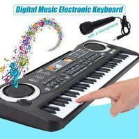61 Schlüssel Elektronische Musik Tastatur Orgel Klavier Set Mit Mikrofon Kinder
