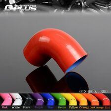"""40mm 1 5/8"""" 90 Degree Hose Turbo Silicone Elbow Coupler Pipe Hose"""