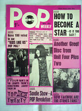 POP  WEEKLY MAGAZINE,No40,29th MAY 1965,16 PAGES,BEATLES,R/STONES ++VG CONDITION