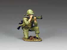 King and Country VN045  Kneeling LAW Gunner--single Vietnam-era USMC figure 1/30