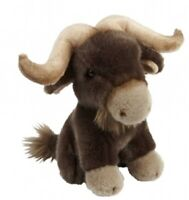 RAVENSDEN SOFT TOY BUFFALO 20CM - FRS009BF CUDDLY TEDDY PLUSH CUTE FURRY