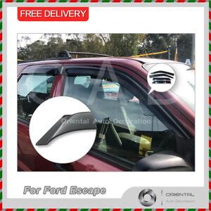 Premium Weathershields Weather Shields Window Visor For Ford Escape 2001-2012