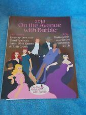 2018 Barbie Doll Convention Souvenir Book