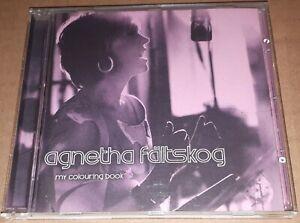 AGNETHA FALTSKOG- 'MY COLOURING BOOK' CD 2014 pop abba