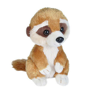 "Wild Republic Hug'Ems Mini Meerkat Cute Soft Animal Plush Toy 7"" / 18cm **NEW**"