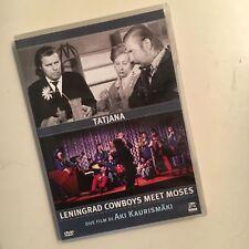 TATJANA + LENINGRAD COWBOYS MEET MOSES RARO DVD DOLMEN - AKI KAURISMAKI