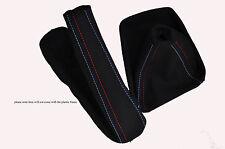 Gamuza Negra M Stitch Manual Polaina Set Para Bmw Serie 1 E81 E82 E87 04-12