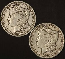 1900-O and 1901-O Morgan Silver Dollars - Free Shipping USA
