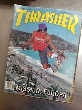 Thrasher Skateboard Magazine October 1987 Skate Transworld Christian Hosoi