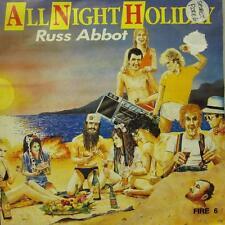 """Russ Abbot(7"""" Vinyl P/S)All Night Long-Spirit-FIRE 6-UK-VG+/VG+"""