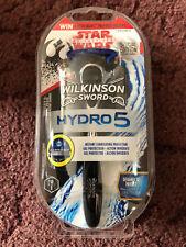 Wilkinson Sword Hydro 5 Razor : Star Wars SPECIAL EDITION Chrome Handle (BNIP)