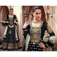 Indian Pakistani Designer Ethnic Anarkali Salwar Kameez  Suit Bollywood Dress