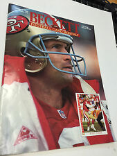 Beckett Card Monthly Magazine Steve Young October 1993 061314R