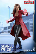 "Hot Toys Captain America: Civil War SCARLET WITCH 12"" Action Figure 1/6 MMS370"