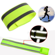 Outdoor Bicycle Night Running Bike Safety Reflective Arm Band Belt Strap