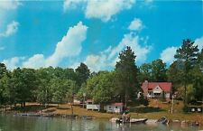 Walker Minnesota~Moon Lite Bay Lodge Together With Leech Lake Tent Camp~1960s