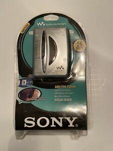 Sony Walkman AM/FM Tuner Mega Bass New Slim Design SEALED WM-FX195 2000