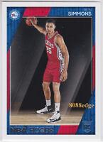 2016-17 PANINI HOOPS NBA ROOKIE CARD: BEN SIMMONS #261 SIXERS RC LSU AUSTRALIA