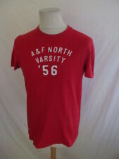 T-shirt Abercrombie & Fitch Rouge Taille S à - 52%
