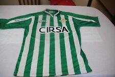 Camiseta REAL BETIS MARCA RBB TALLA M CIRSA 20 JEFFERSON MONTERO