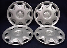 "MAZDA MX-3 92-96 14"" 8 HOLE SILVER WHEEL COVER / HUBCAP - SET OF 4 - OEM"