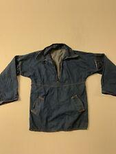 New listing Vintage womens 1970's Denim blouse Small Vintage