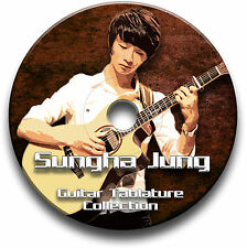 SUNGHA JUNG FINGERSTYLE CHITARRA INTAVOLATURE CANTO BOOK CD SOFTWARE