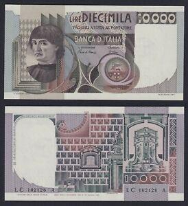 Italia 10000 lire Del Castagno 1982 (126) FDS/UNC  B-01