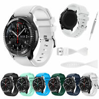 Sport Rubber Silicone Replacement Wrist Strap Band For Samsung Galaxy Gear S3 US