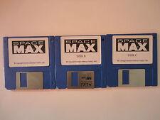 SPACE MAX Commodore Amiga 3 Disketten Spiel deutsch 1992 M+A+X Starbyte Softare