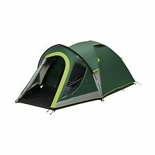 Coleman Kobuk Valley 4 Plus  4 Person Dome Tent with BlackOut Bedrooms -
