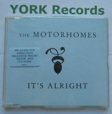MOTORHOMES - It's Alright - Excellent Condition CD Single Epic 669000 2