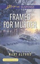 Framed for Murder (Love Inspired Suspense (Large Print))
