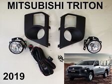 Mitsubishi NEW Triton L200 Fog Lamp Spot light SET Clear Pickup 2019