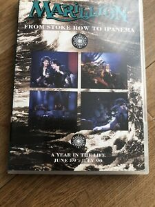 Marillion From Stoke Row To Ipanema A Year In The Life June89 - July90 2DVD Set