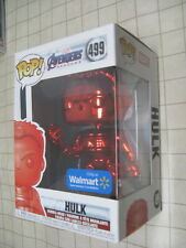 FUNKO POP! MARVEL AVENGERS ENDGAME: RED CHROME HULK #499 - Walmart Exclusive