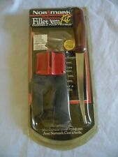 Normark Fisherman Fillet'em Kit NEW Fillet Glove Knife Sharpener and How to Book