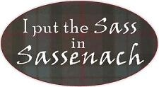 Outlander Sassenach Fraser Car/Truck/Window Decals Stickers- Set of 2