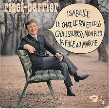"""45T EP RICET BARRIER """"LE CHAT LE RAT ET LOLA"""""""