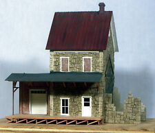 S SCALE/Sn3/Sn2 WISEMAN MODEL SERVICES BMW4080 2 STORY STONE FACTORY KIT