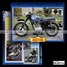 #063.07 Fiche Moto BSA 250 B25 STARFIRE 1968-1970 Motorcycle Card